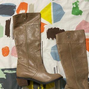 Gianni Bini genuine leather boots.